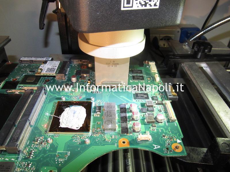 reballing sostituzione GPU Asus N56JN-CN048H N56J N56JN 2.0