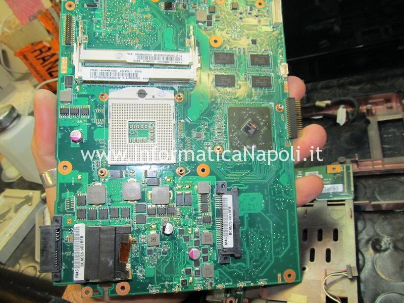 reballing chip video Asus K52JT AMD Radeon HD 6370M