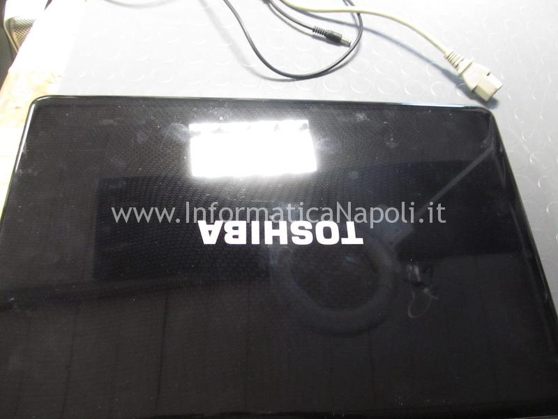 riparazione Toshiba L670D-11M PSK3NE-00700EIT