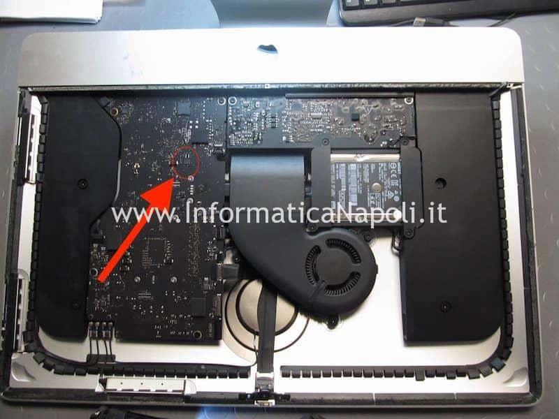 sblocco iMac A1418 21.5 EFI Winbond 25Q64FVIQ 2013 | 2014 | 2015 | 2016 | 2017 logic board 820-00431-A