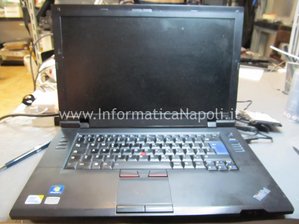 problema accensione lenovo thinkpad SL510 type 2847