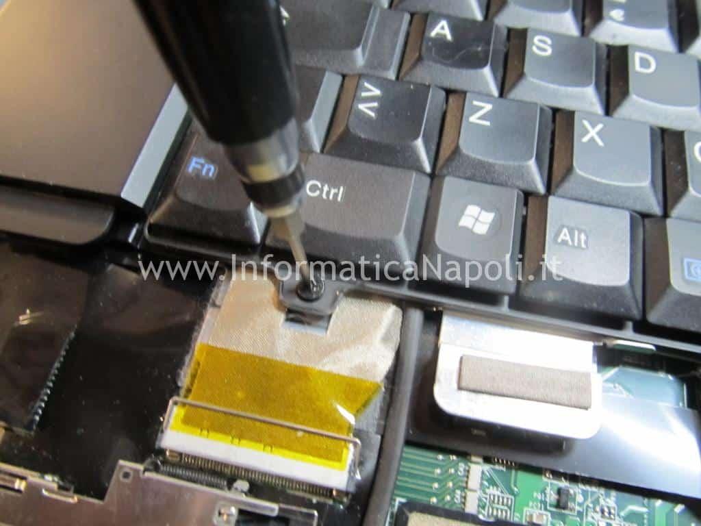 riparare motherboard lenovo thinkpad SL510 type 2847 MB DAGC3AMB8IO