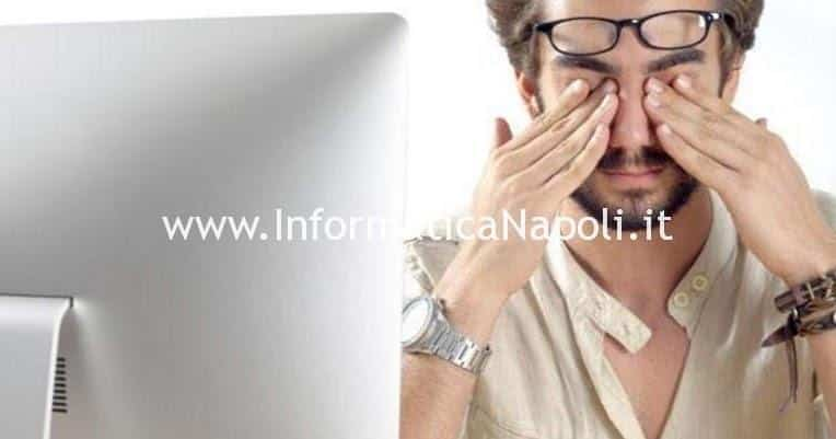 come proteggere occhi pc