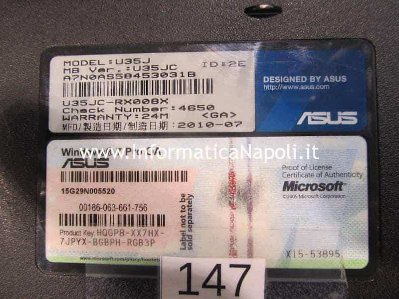 reballing GPU Asus U35J nVidia GeForce 310M