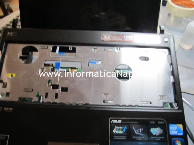 disassemblare reballing sostituzione chip grafico Asus U35J nVidia GeForce 310M