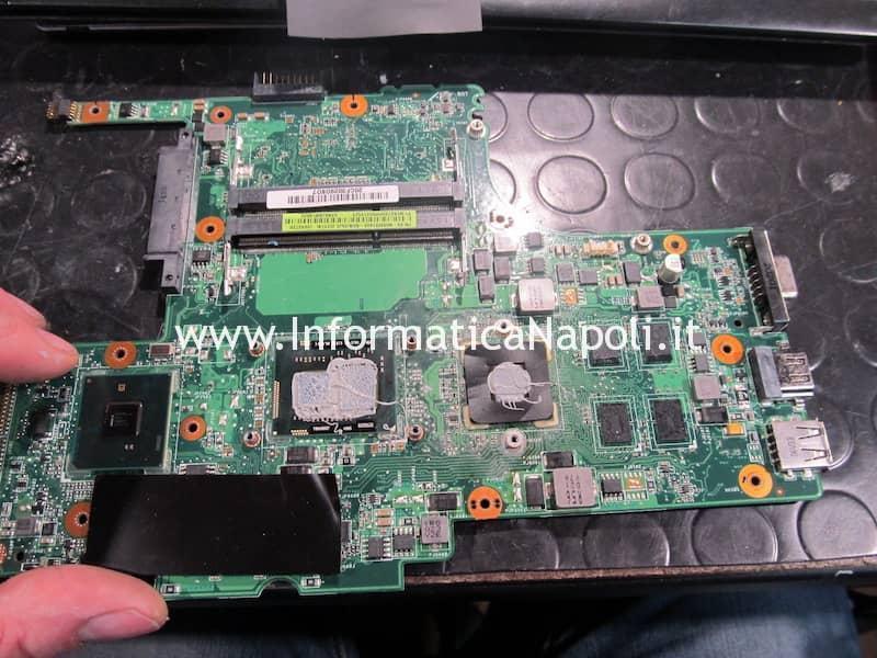 riparazione scheda madre Asus U35J nVidia GeForce 310M