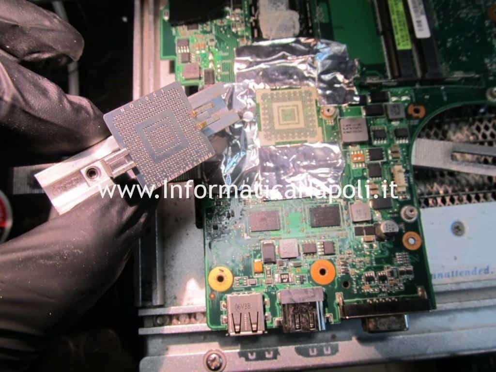 problema schermo nero Asus U35J nVidia GeForce 310M non si avvia
