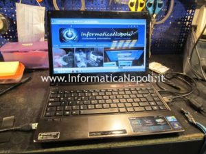 Asus U35J nVidia GeForce 310M si accende