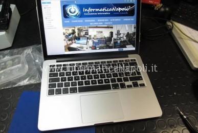 assistenza apple macbook pro retina 13 a1502
