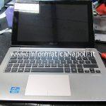 Problema Asus VivoBook S200E schermata nera bios non si accende