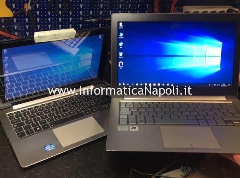 Asus VivoBook S200E riparato funzionante
