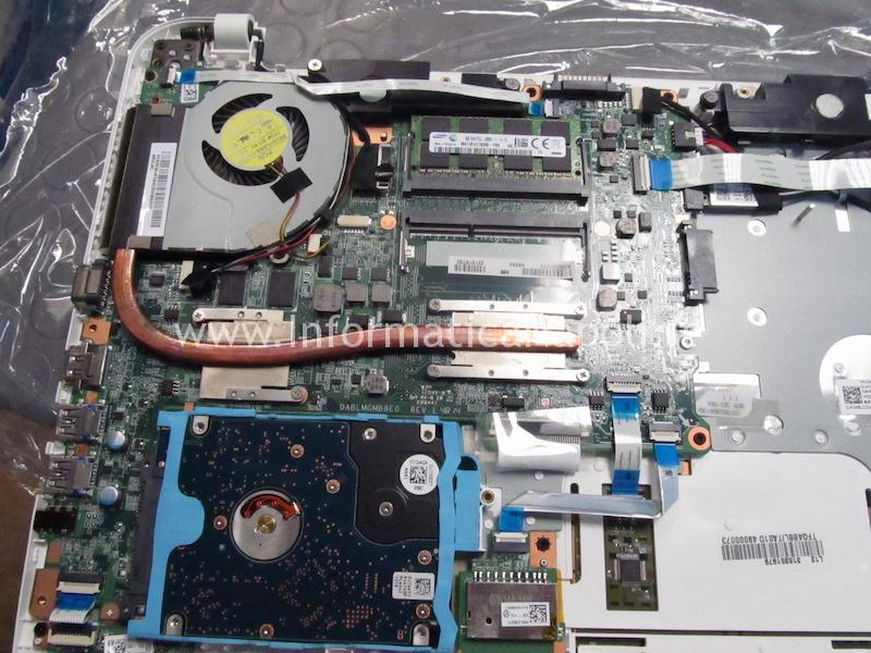 problema scheda madre Toshiba Satellite L50D L50D-B-13C PSKUQE EEPROM CFEON QH64-104HIP DABLMGMB8E0 REV E