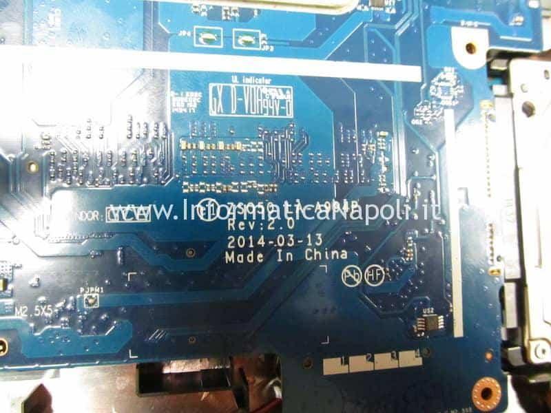 come riparare HP 250 G3 Bios W25Q64FW 1.8v LA-A994P 2.0