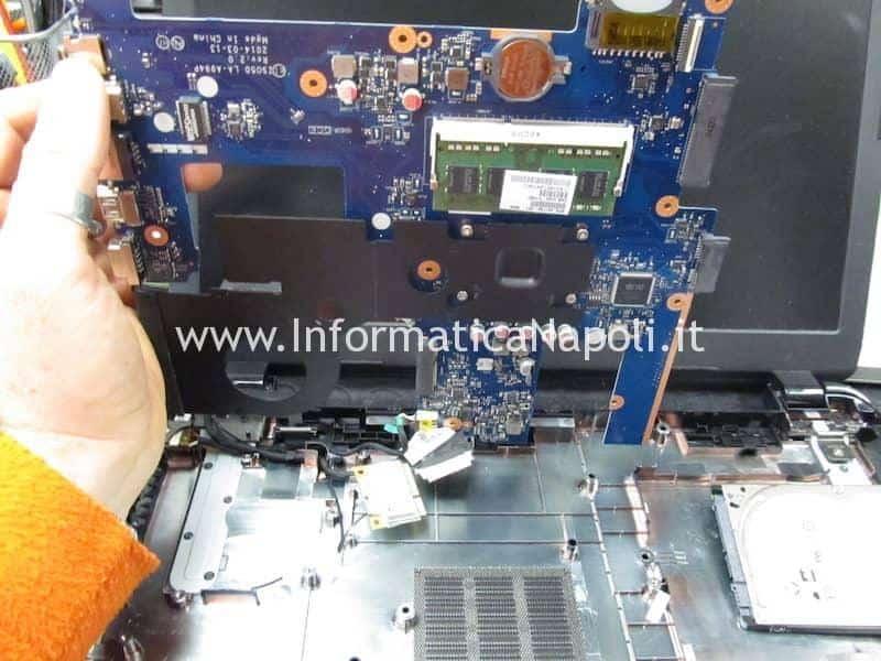 problemi assistenza HP 250 G3 Bios W25Q64FW 1.8v LA-A994P 2.0