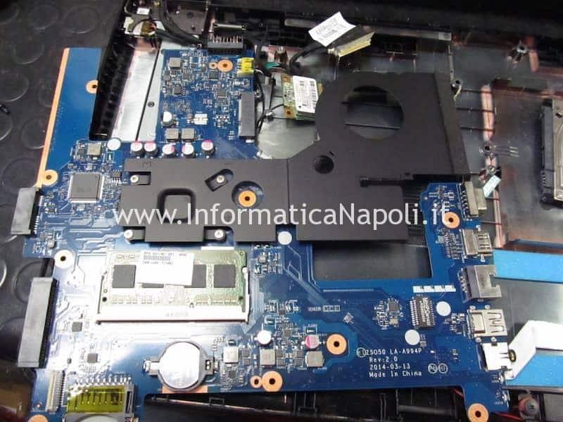 riparazione scheda madre HP 250 G3 Bios W25Q64FW 1.8v LA-A994P 2.0