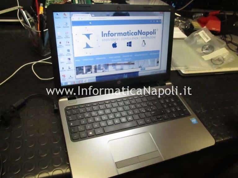 Problemi accensione HP 250 G3