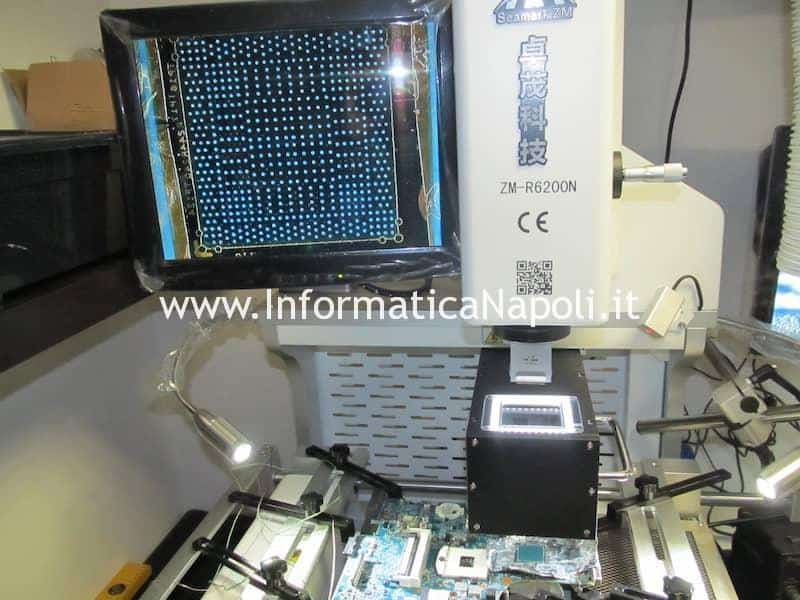 centratura GPU chip video Problemi accensione HP ProBook 4520s