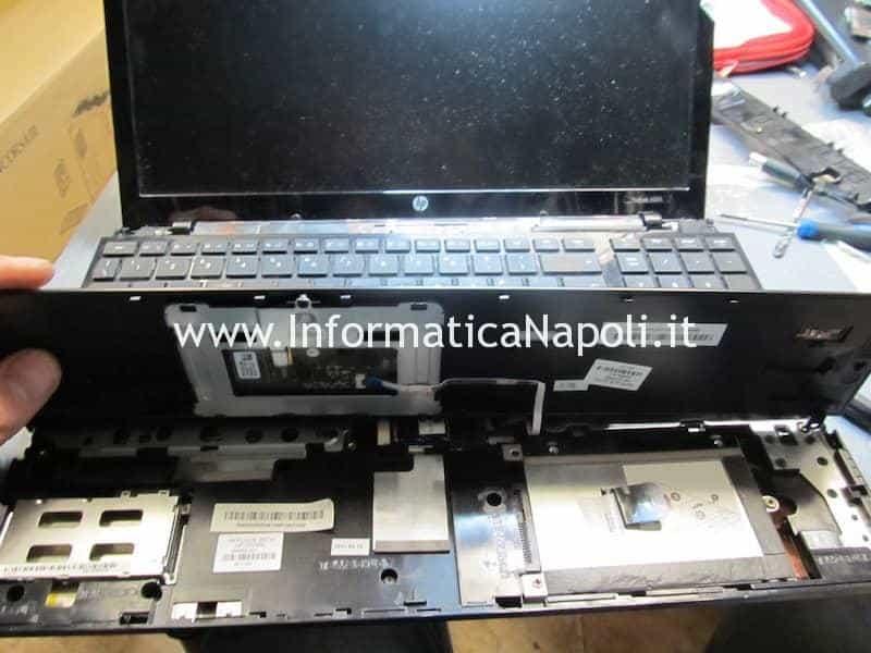 problema scheda video HP ProBook 4520s ATI Mobility Radeon HD 4330 5470 6370 smontare aprire riparare
