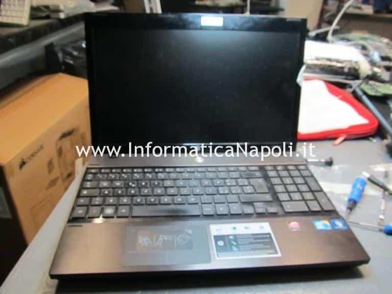 Problemi accensione HP ProBook 4520s