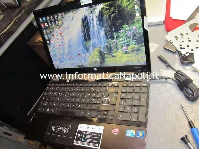 come riparare HP ProBook 4520s che non si avvia