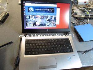 HP ProBook 440 G3 riparato si accen