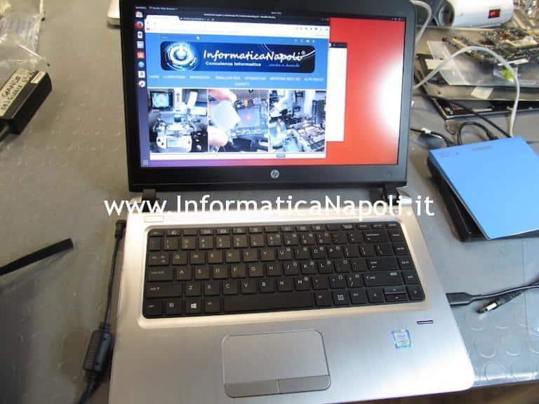 Problema accensione HP ProBook 440 G3