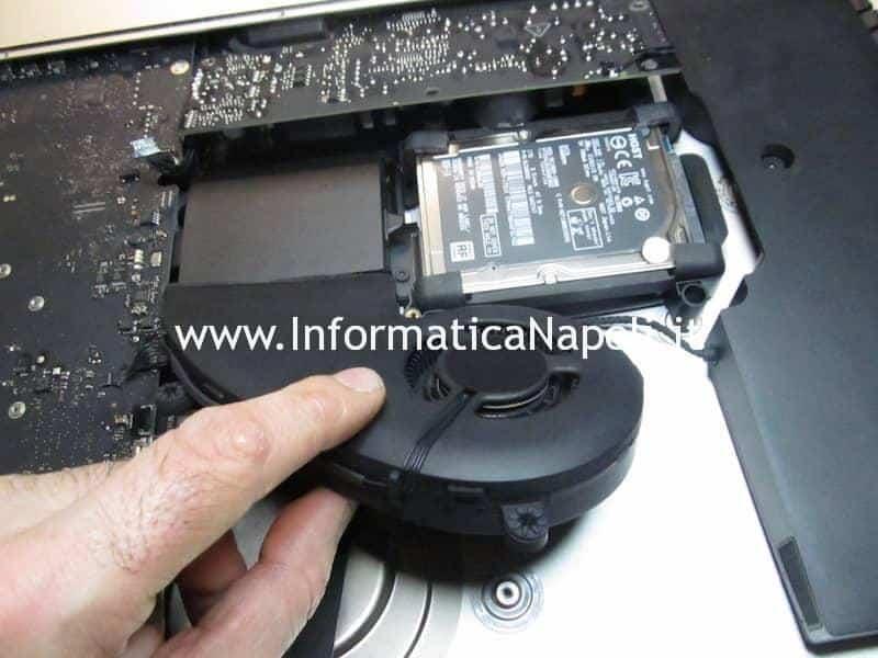 Riparazione sostituzione Ventola FAN Apple iMac A1418