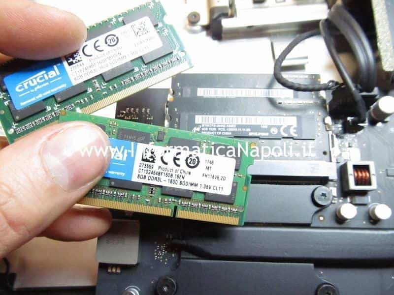 upgrade RAM Scheda logica Apple iMac A1418
