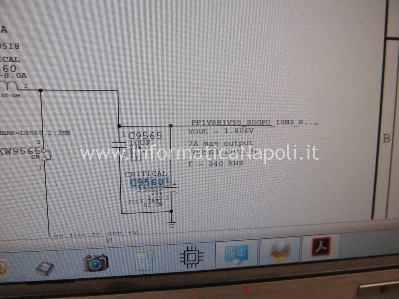 risolvere problemi di GPU panic Apple MacBook 15 A1286 Mid 2010 K18 820-2850-A C9560