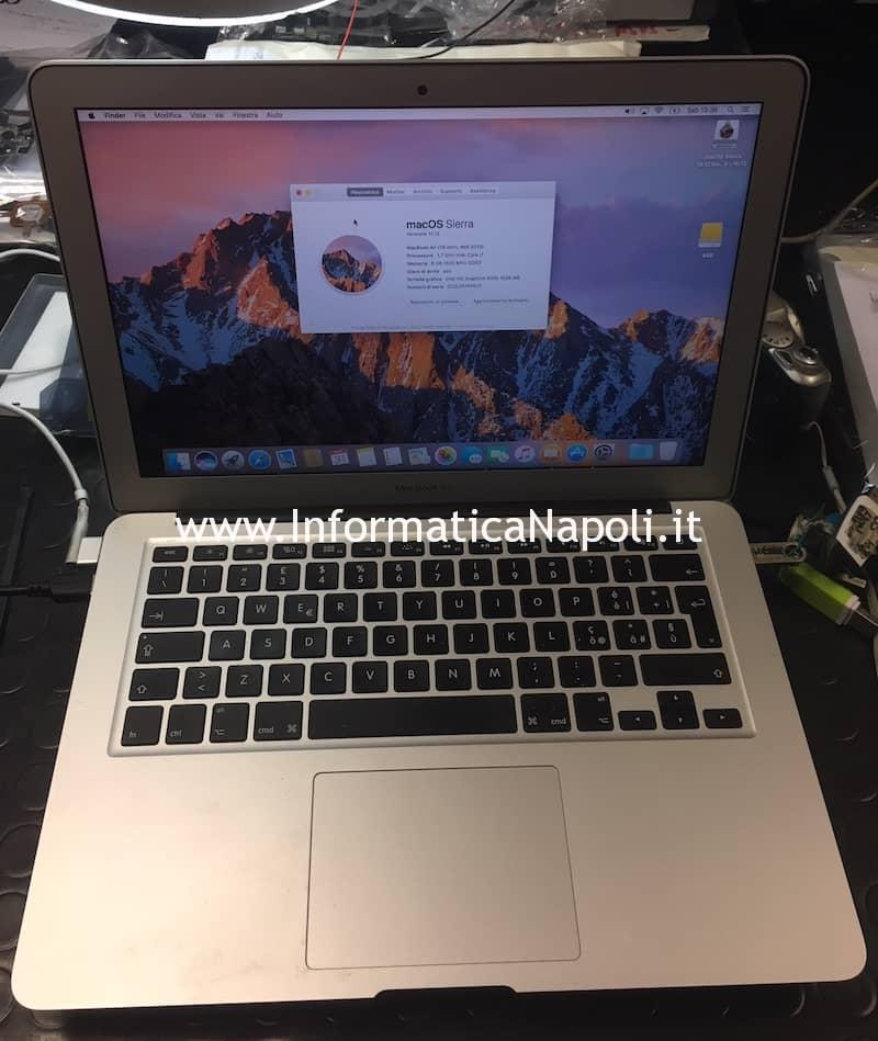 Problema Chime Loop | suono infinito all'avvio su MacBook Air 13 A1466 A1369