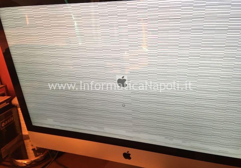 iMac A1419 27 pollici late 2012 820-3299-A con problemi scheda grafica