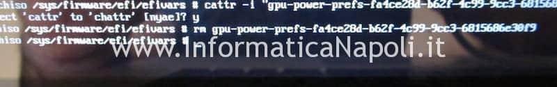 disabilitare spegnere GPU discreta macbook pro e attivare solo GPU intergrata Intel