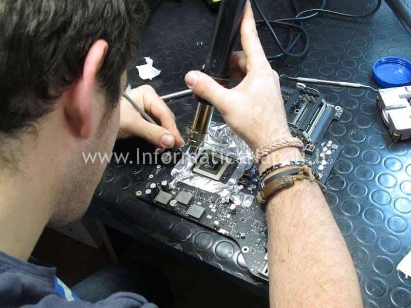 come pulire GPU per lift reballing nVidia N13E-GTX-W-A2 680MX iMac A1419 27 pollici late 2012