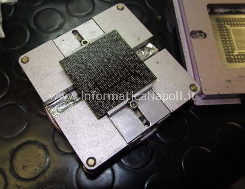 reballing ball bga N13E-GTX-W-A2 iMac A1419 27 pollici late 2012 820-3299-A
