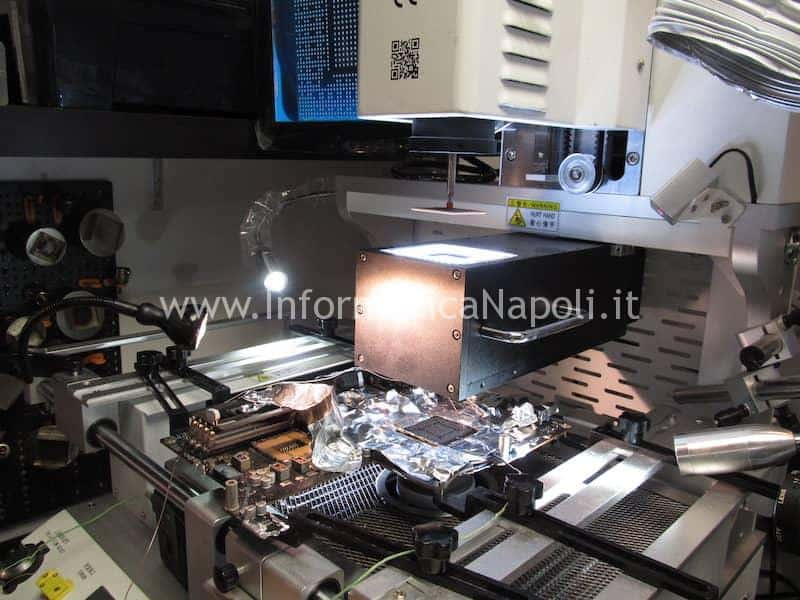 centratura posizionamento bga N13E-GTX-W-A2 iMac A1419 27 pollici late 2012 820-3299-A