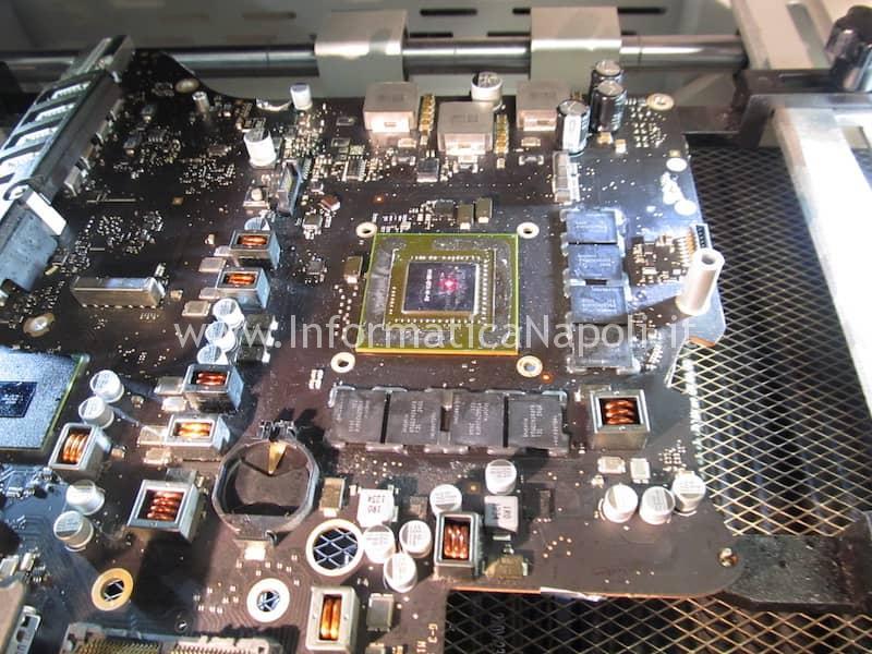 nVidia N13E-GTX-W-A2 iMac A1419 27 pollici late 2012 820-3299-A riparato