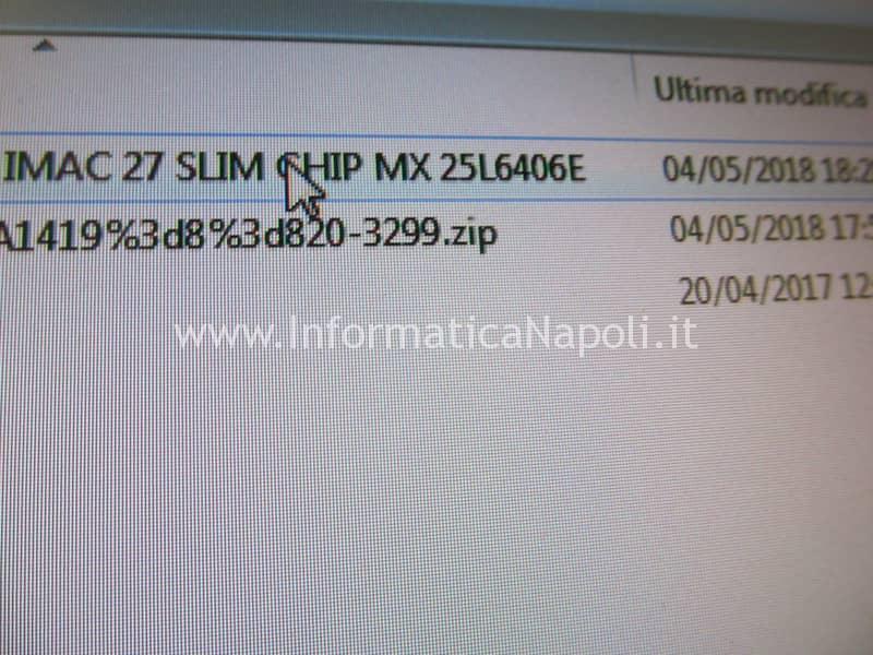 riprogrammare bios chip eeprom EFI MX25L6406E