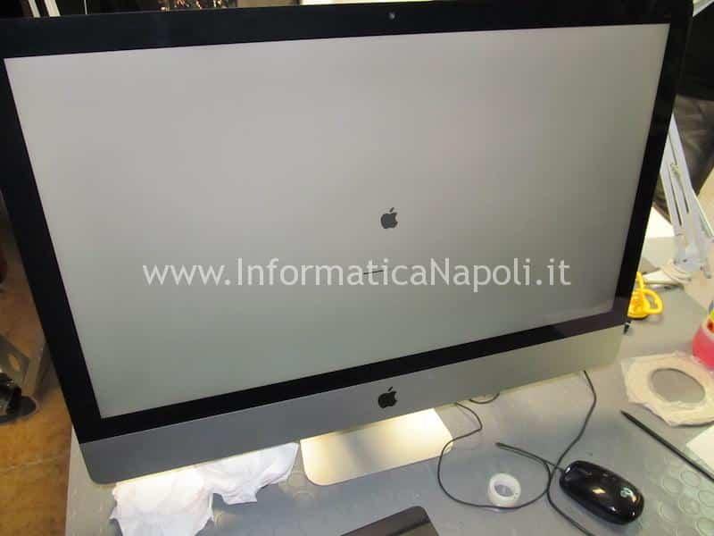 Anomalia problema avvio iMac A1419 27 pollici late 2012 i5 32GB ram 1Tb HD