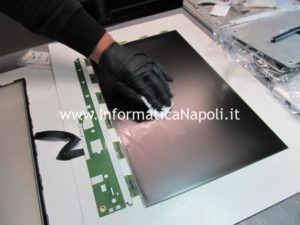 ripulire display interno imac A1311 A1312