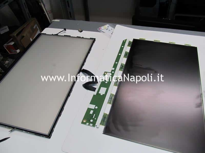 come pulisco display interno imac A1311 A1312