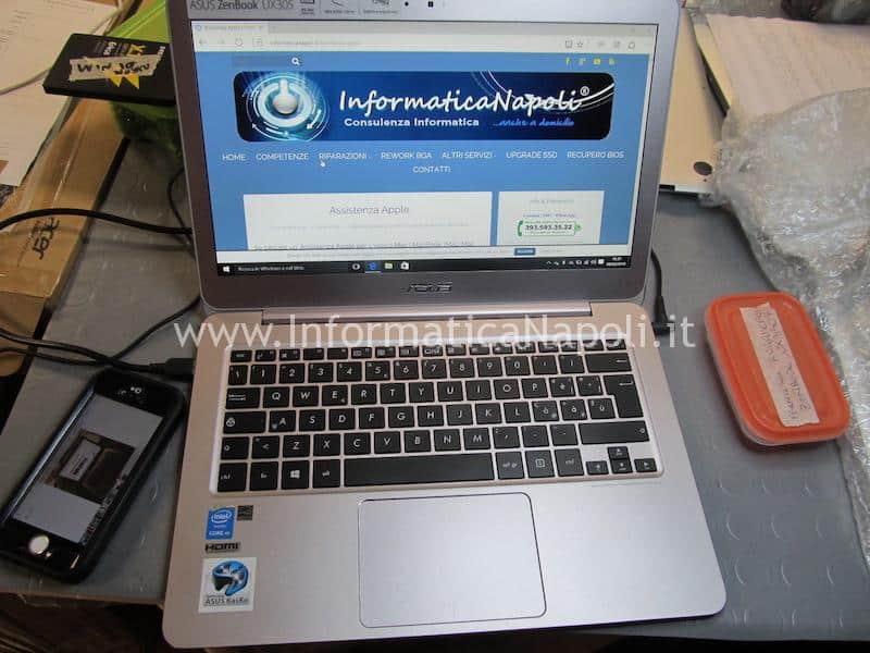Asus ZenBook UX305 | UX305FA ripristinato funzionante