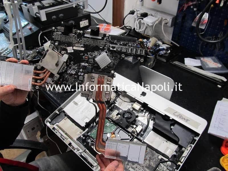 riparazione scheda logica fumo sigaretta elettronica imac macbook pc computer