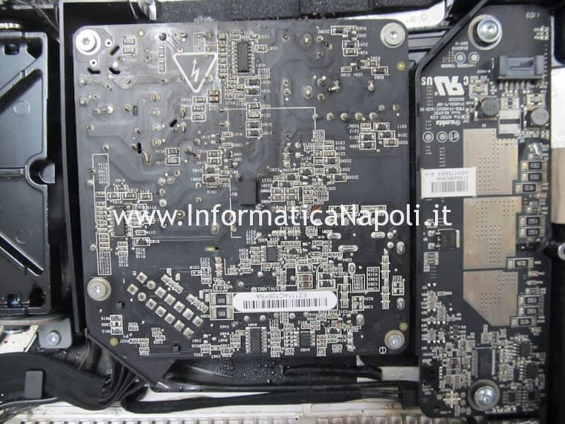 problemi fumo sigaretta elettronica iMac A1311 A1312 olio liquido svapo e-cig