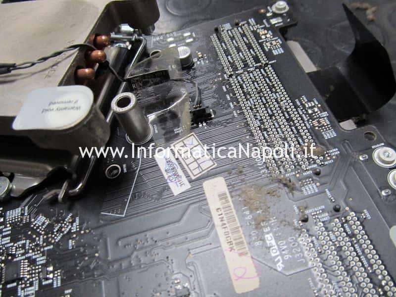 pulizia scheda video problemi fumo sigaretta elettronica imac macbook mac pro apple