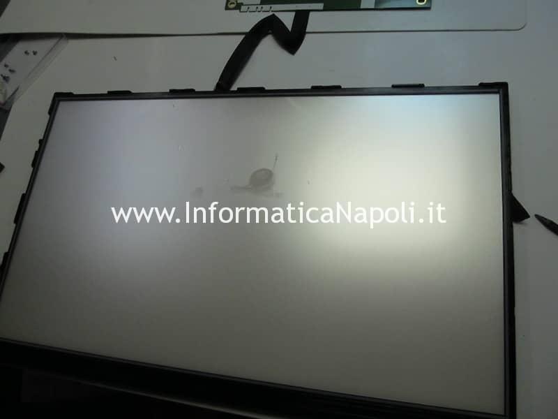 pulizia schermo imac sporco fumo sigaretta elettronica iMac A1311 A1312 olio liquido svapo e-cig