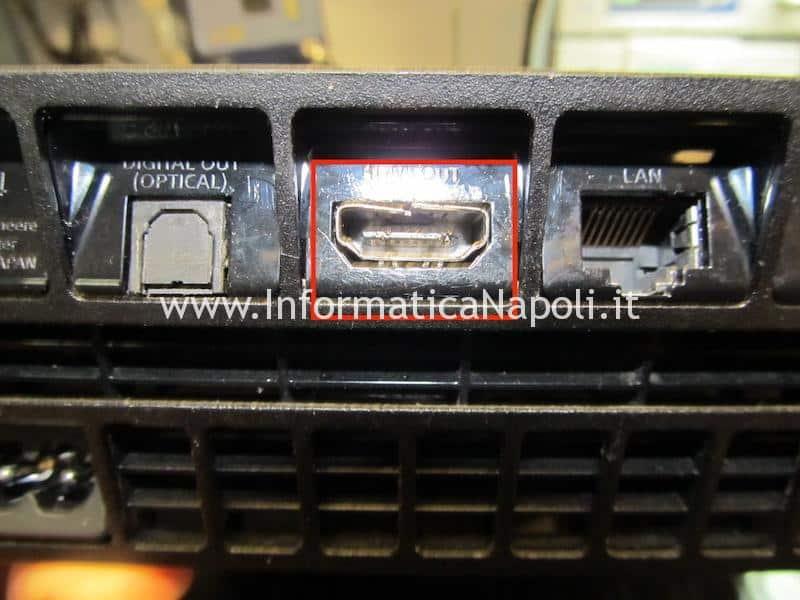 connettore HDMI Playstation 4 fat modello CUH-1000 | CUH-1100 | CUH-1200