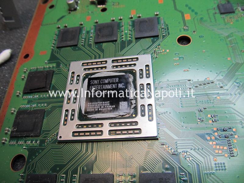 rework reballing cxd90026ag APU PS4 PlayStation 4