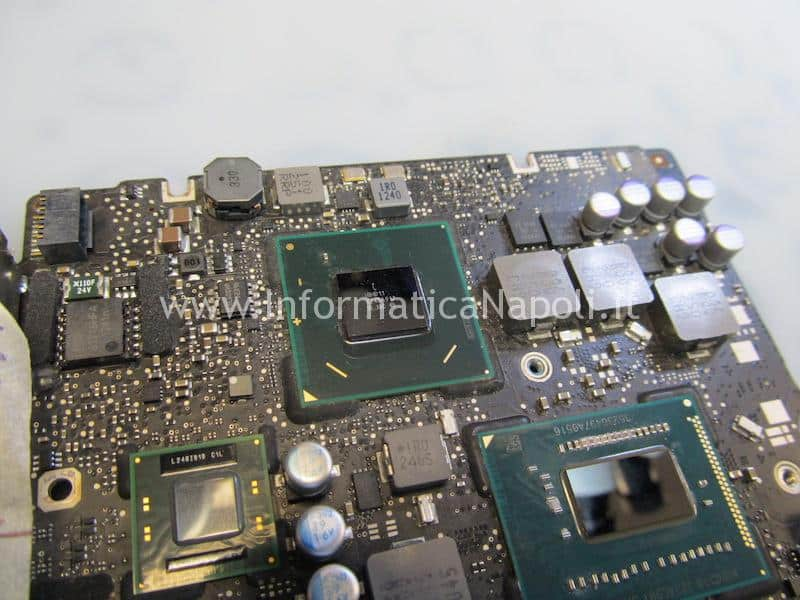 reballing Mobile Intel HM77 Express Chipset macbook pro 13 Intel® 7 Series Chipsets 820-3115-B