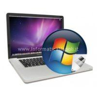 Installazione boot camp windows su portatili mac