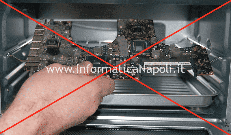 Reflow forno macbook